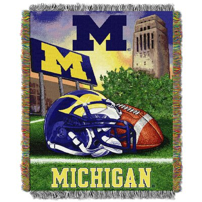 NCAA Michigan Tapestry Throw