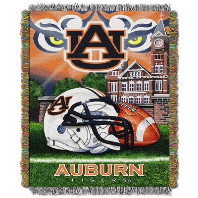 NCAA Auburn Tapestry Throw