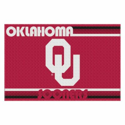 Collegiate Oklahoma Old Glory Mat
