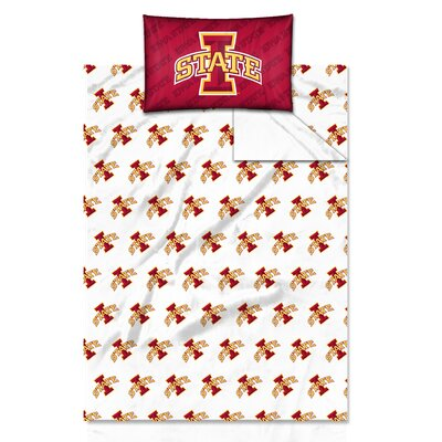 NCAA Sheet Set Size: Twin, NCAA Team: University�of�Iowa State