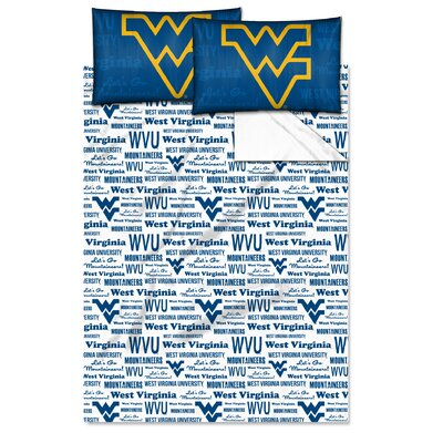 NCAA Sheet Set Size: Twin, NCAA Team: University�of�West�Virginia
