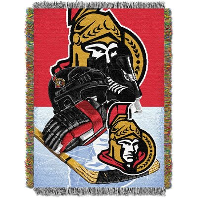NHL Home Ice Advantage Tapestry Throw Blanket NHL Team: Ottawa Senators