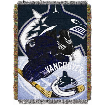 NHL Home Ice Advantage Tapestry Throw Blanket NHL Team: Vancouver Canucks
