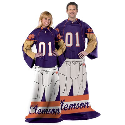 College NCAA Clemson Comfy Throw