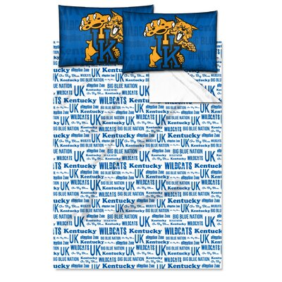 College NCAA Kentucky Full Sheet Set