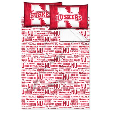 NCAA Nebraska Sheet Set Size: Twin