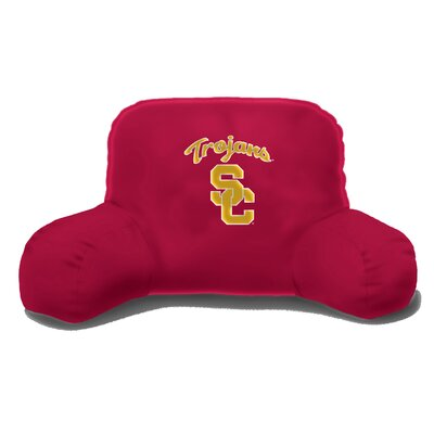 NCAA University of Southern California Cotton Bed Rest Pillow