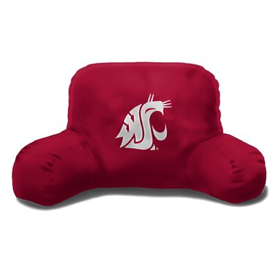 NCAA Washington State Cotton Bed Rest Pillow