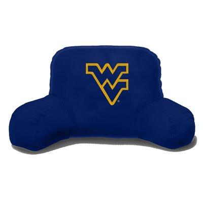 NCAA West Virginia Cotton Bed Rest Pillow