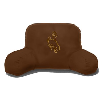 NCAA Wyoming Cotton Bed Rest Pillow