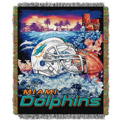 NFL Miami Dolphins Tapestry Throw