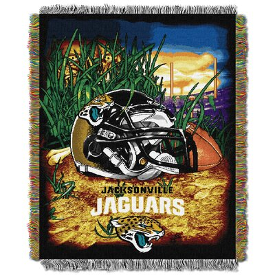 NFL Jacksonville Jaguars Tapestry Throw