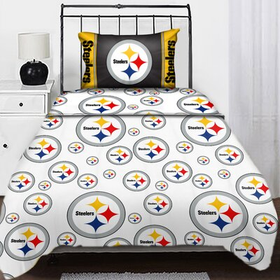 Pittsburgh Steelers Bedding Sports Decor