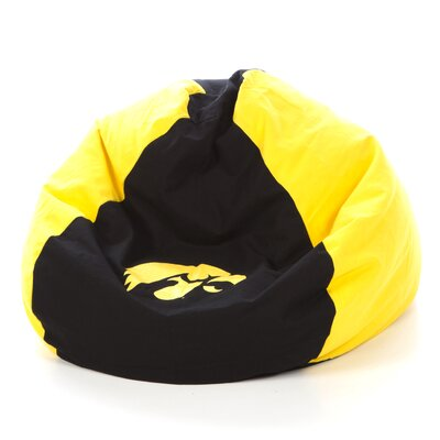 College Bean Bag Chair NCAA Team: Iowa