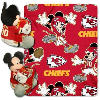 NFL Mickey Mouse Throw NFL Team: Kansas City Chiefs