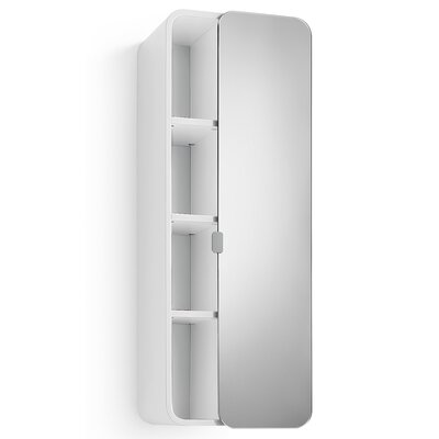 Linea Bej 12 x 31.9 Surface Mount Medicine Cabinet Finish: White