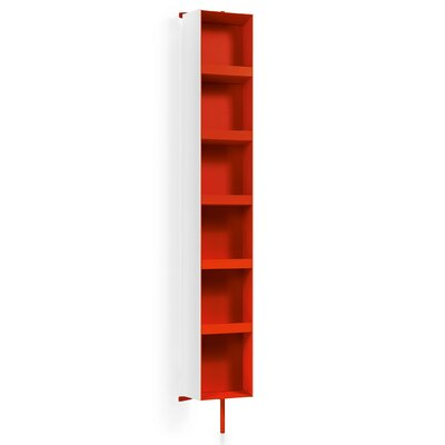 Linea Ciacole 10.4 x 69.3 Surface Mount Medicine Cabinet Finish: White / Red