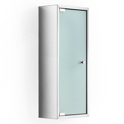 Linea Pika 9.8 x 23.6 Surface Mount Medicine Cabinet Finish: Frosted