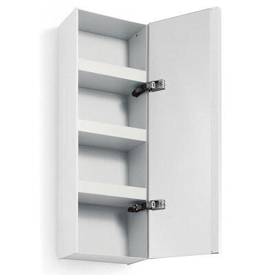 Linea Ciacole 10.4 x 31.5 Surface Mount Medicine Cabinet Finish: White
