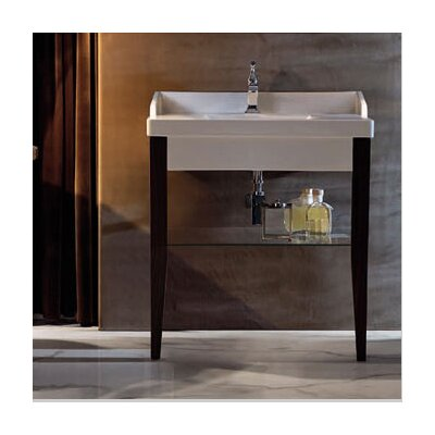 Bentley 47 Single Wood Bathroom Vanity Set Faucet Mount: Single Hole