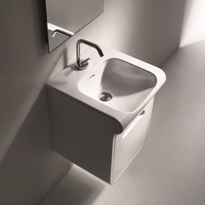 Inka Ceramic Rectangular Vessel Bathroom Sink