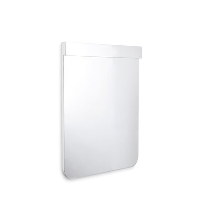 "Scalin Bathroom Wall Mirror with LED Lighting Size: 34.6"" H x 27.6"" W x 2.6"" D"