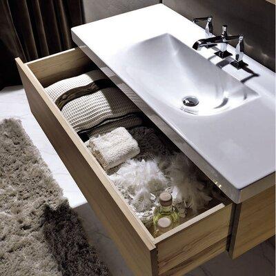 Bentley 32 Single Wood Bathroom Vanity Set Faucet Mount: Single Hole