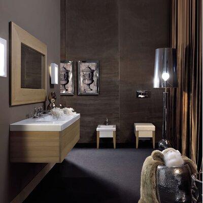 Bentley 32 Single Wood Bathroom Vanity Set Faucet Mount: Three Hole
