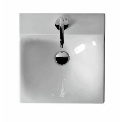 Buddy Ceramic 16 Wall Mount Bathroom Sink