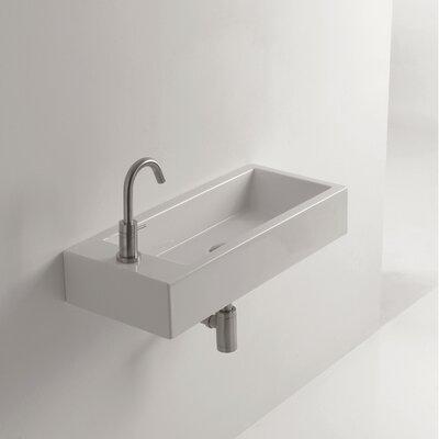Whitestone Hox 28 Wall mountedBathroom Sink with Overflow