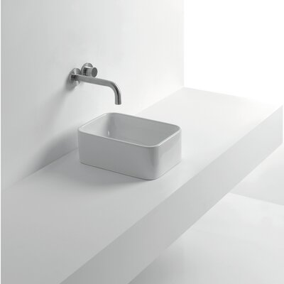 Normal Rectangular Vessel Bathroom Sink
