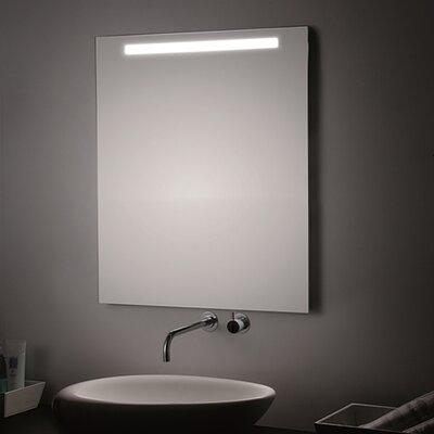 "T5 LED Lighted Wall Bathroom Mirror Size: 47.2"" H x 23.6"" W x 0.5"" D"