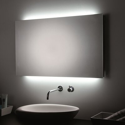 "LED Wall Bathroom Mirror Size: 31.5"" H x 47.2"" W x 1.5"" D"