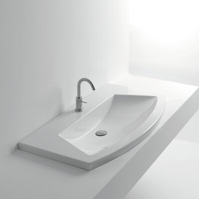 Whitestone Ceramic Specialty Drop-In Bathroom Sink