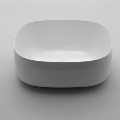 Seed Oval vessel Bathroom Sink with Overflow
