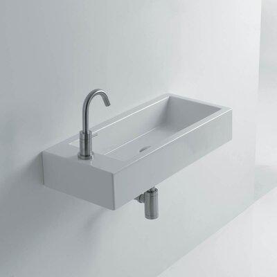 Hox Ceramic 20 Wall Mount Bathroom Sink
