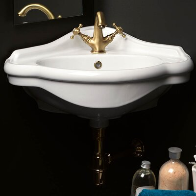 Contea Specialty Wall-Mount Bathroom Sink with Overflow