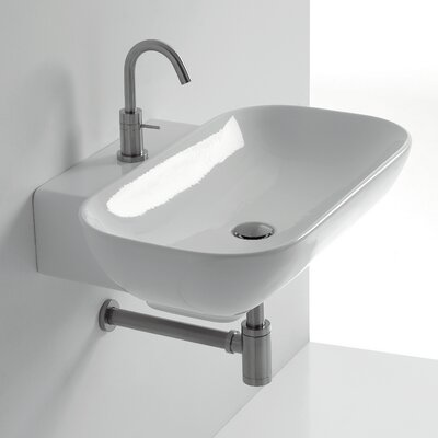 Ciotola Rectangular Vessel Bathroom Sink