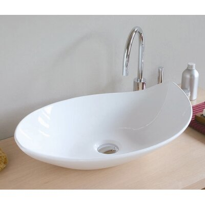 Ceramica Specialty Vessel Bathroom Sink