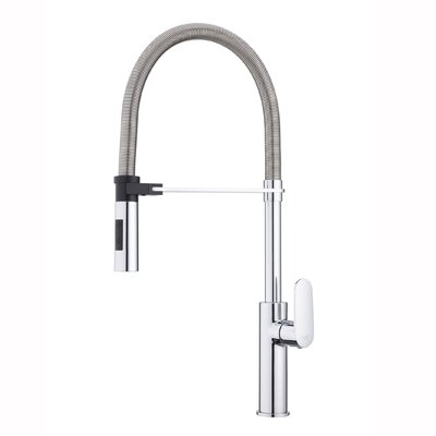 Candy Deck Mounted Standard Kitchen Faucet Finish: Polished Chrome