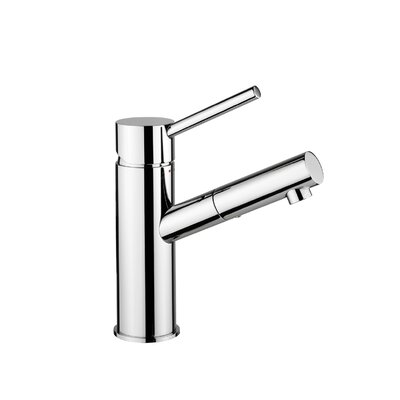 Birillo Wash Basin Mixer with Lever Handle Finish: Polished Chrome