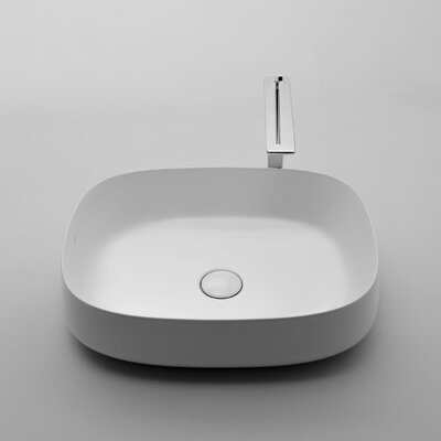 Seed Specialty vessel Bathroom Sink with Overflow