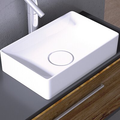 Vision Rectangular Vessel Bathroom Sink