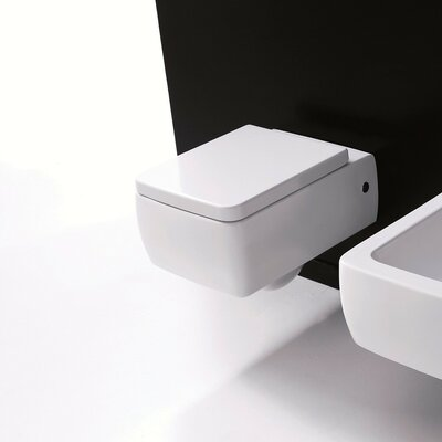 Ego Wall Hung Elongated Toilet Bowl