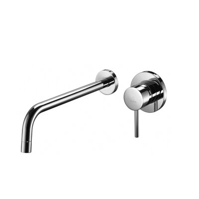 Light Wall mounted Single Handle Bathroom Faucet