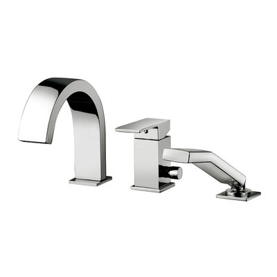 Elle Widespread Single Handle Bathroom Faucet
