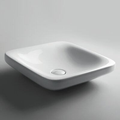 Start Ceramic Square Vessel Bathroom Sink