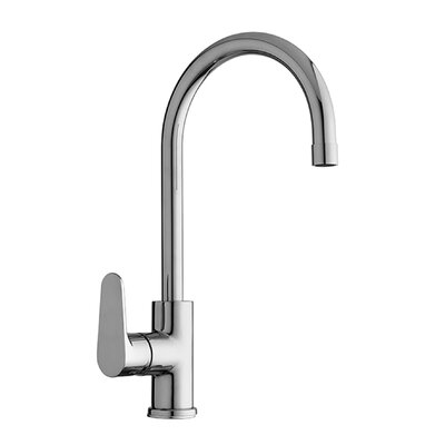 Green Single Handle Kitchen Faucet