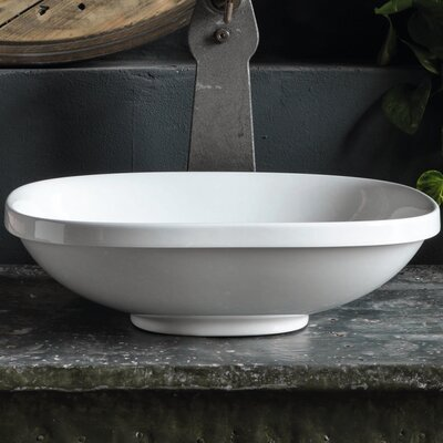 Wild Ceramic Square Vessel Bathroom Sink