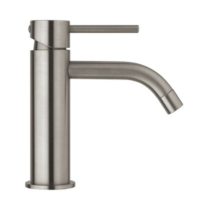 Light Exclusive Single Handle Bathroom Faucet Finish: Steel